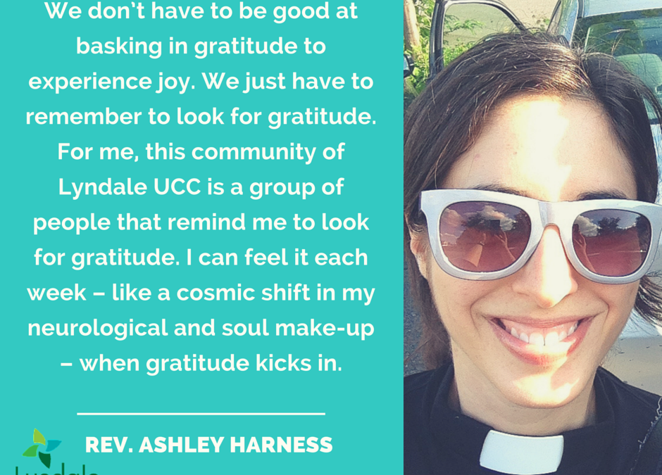 Practicing Joy: Pastor Ashley