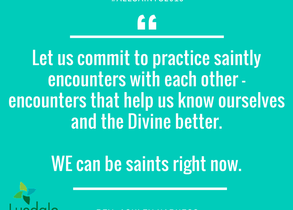 Saintly Encounters