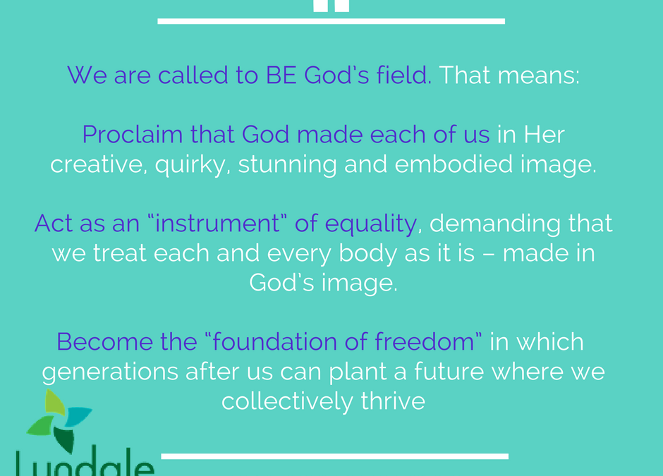 Be God's Field