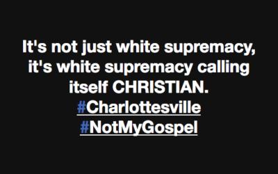 White Supremacy: Not in My Name, Not in My God's Name