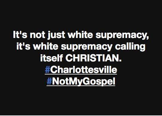 White Supremacy: Not in My Name, Not in My God's Name