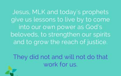 MLK Sunday: Beloved and Repentant
