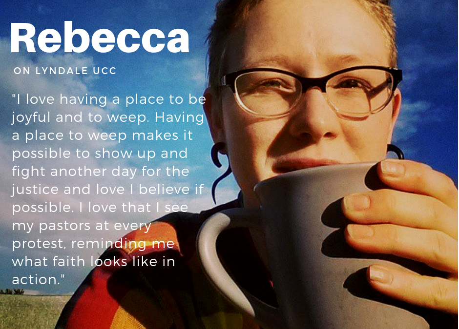 Rebecca Lawrence on why she gives to Lyndale UCC