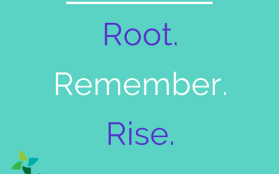 All Saints: Root, Remember, Rise.