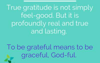Beyond Cheap Gratitude
