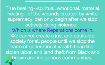 MLK Sunday: Reparations and Healing
