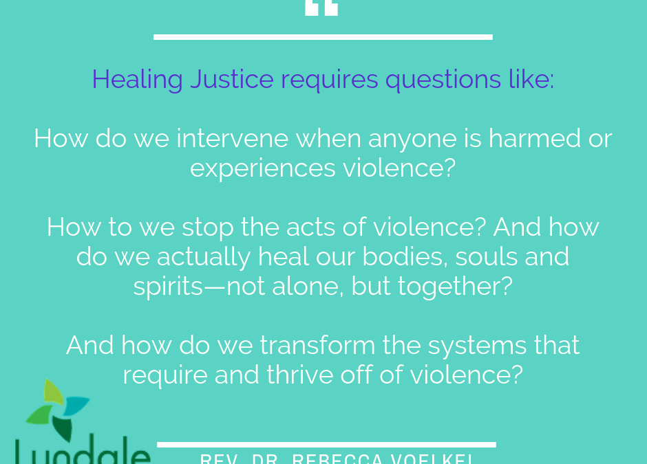 The Journey to Healing Justice: Claiming Transfiguration