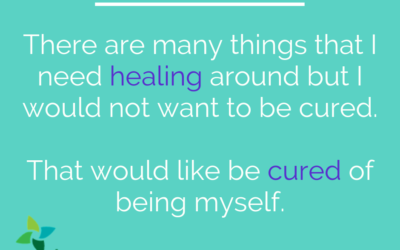Healing (not curing) Justice
