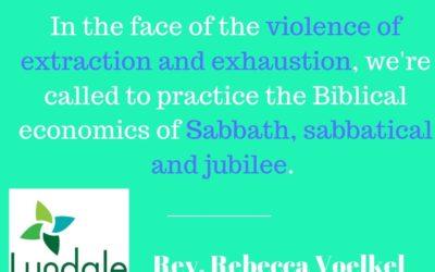 Practicing Sabbath Economy