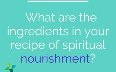 Nourishment, not comfort, is what we need.