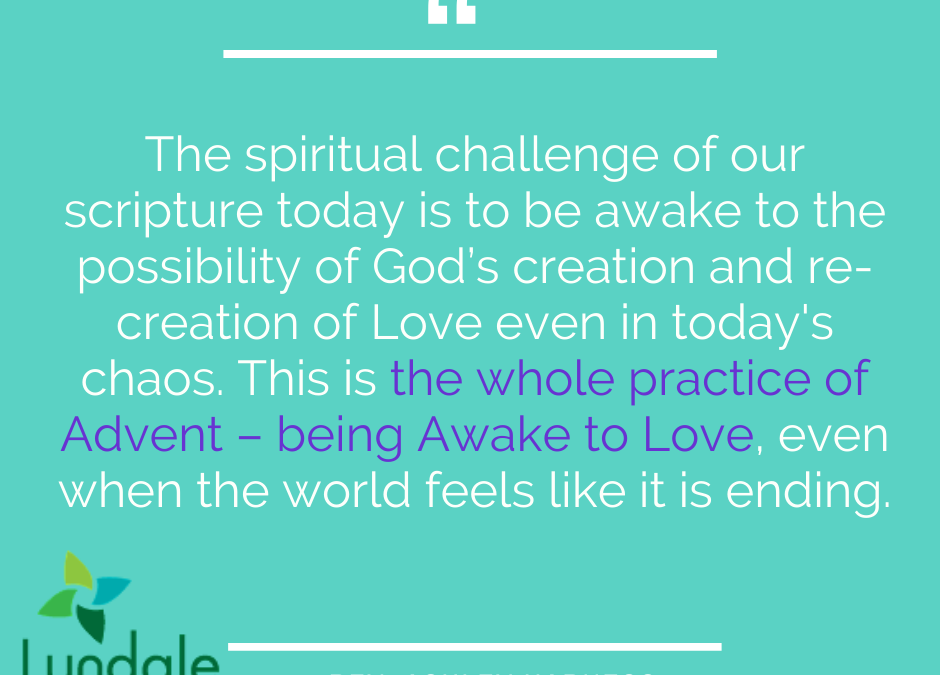Advent 1: Awake to Love