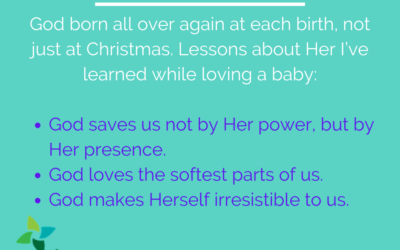 Christmas Eve: Lessons from God the Daughter
