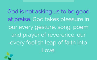 Praise God from whom all blessings flow…