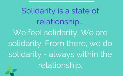 Lent: Solidarity, Communion & Reparations