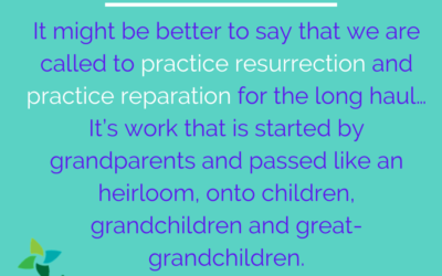 Easter: Practicing Resurrection and Reparation
